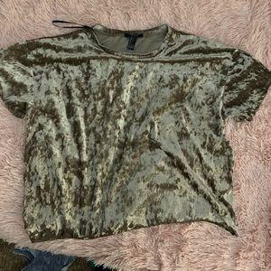 Forever 22 Velvet T-shirt